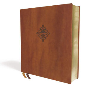 NRSV Bible, XL Edition Leathersoft Brown, Comfort Print