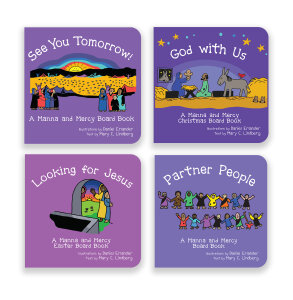 Manna and Mercy Board Book Bundle