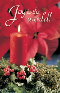 Joy to the World!: Christmas Bulletin, Large Size: Quantity per package: 100