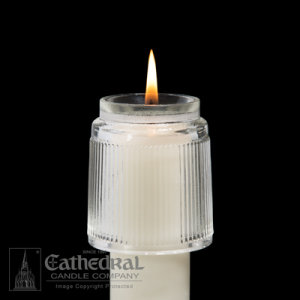 Rex Glass Candle Followers (Various Sizes)