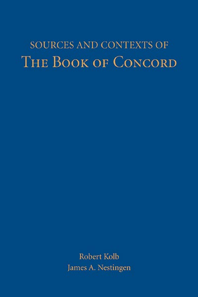 Sources and Contexts of the Book of Concord