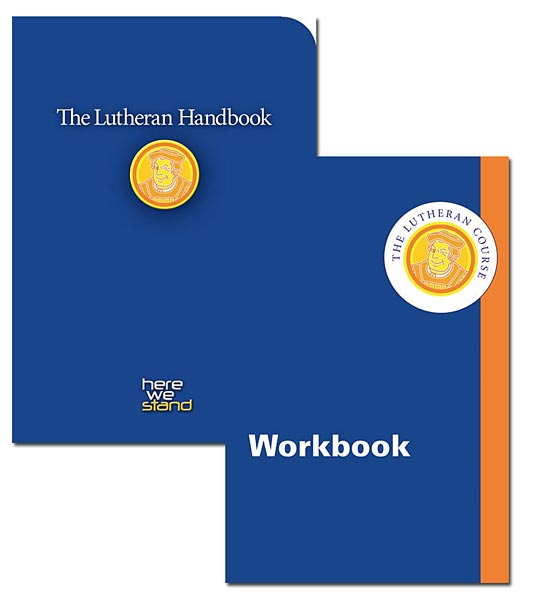 The Lutheran Course Handbook/Workbook Bundle Pack