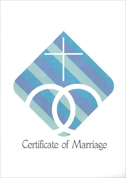 Rainbow Certificate of Marriage: Quantity per package: 12