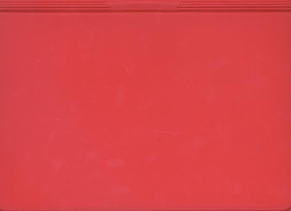 Attendance Registration Form Vinyl Holder (Red) 6/pk