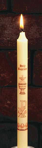 Holy Baptism Candle