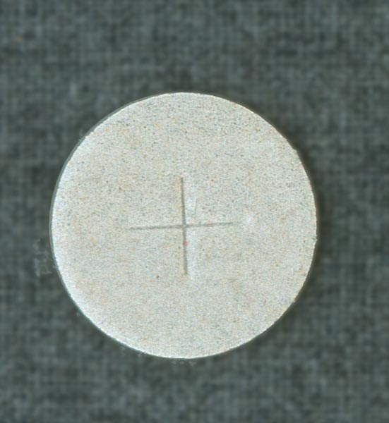 Communion Wafers, White Flour, 1-3/8 inch in diameter (box of 500)