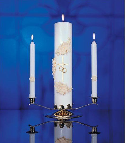 Holy Matrimony Center Candle (only)