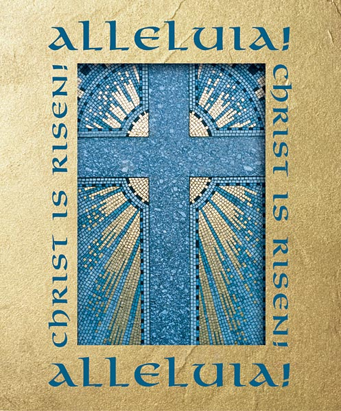 Alleluia! Christ is Risen!: Easter Bulletin, Large Size: Quantity per package: 100