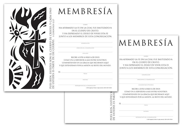 Certificate Download, Membership (Spanish)