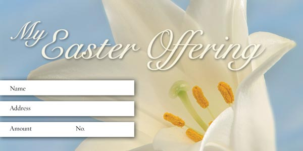 Alleluia!: Easter Offering Envelope: Quantity per package: 100