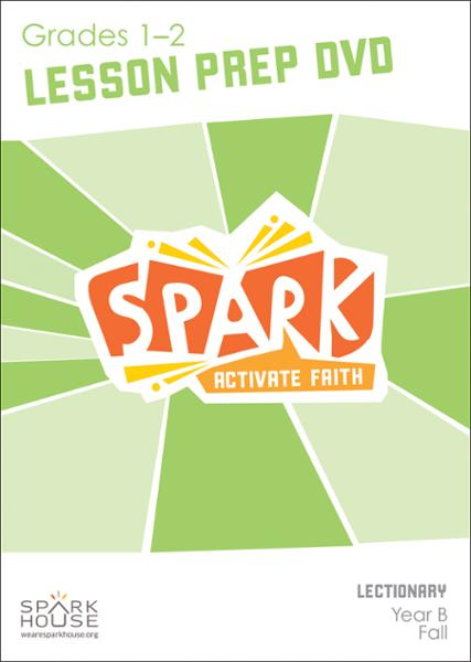 Spark Lectionary / Fall 2021 / Grades 1-2 / Lesson Prep Video DVD