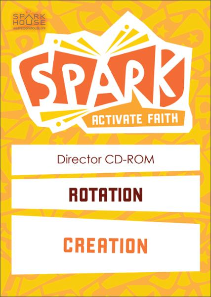 Spark Rotation / Creation / Director CD