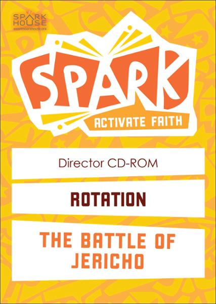 Spark Rotation / The Battle of Jericho / Director CD