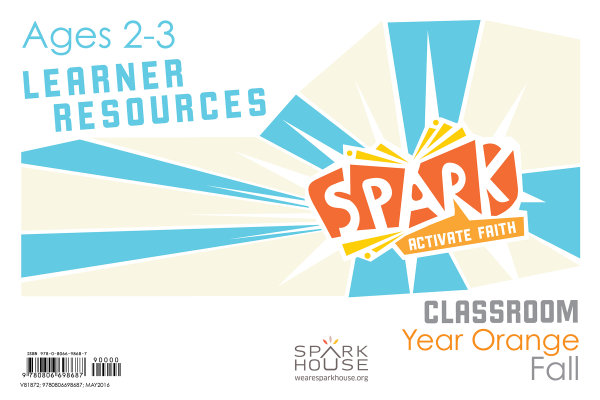 Spark Classroom / Year Orange / Fall / Age 2-3 / Learner Leaflets
