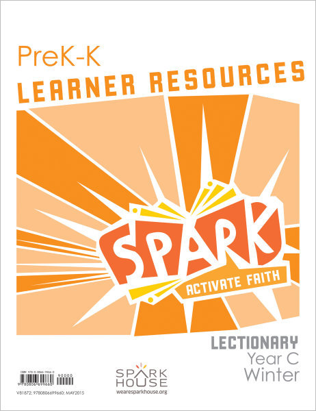 Spark Lectionary / Year C / Winter 2021-2022 / PreK-K / Learner Leaflets