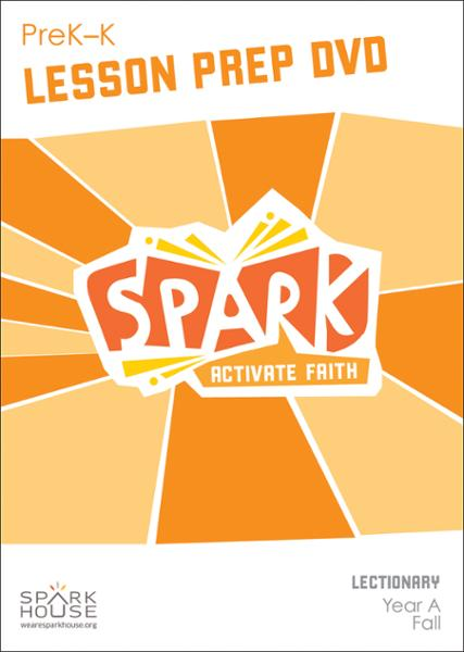 Spark Lectionary / Fall 2020 / PreK-K / Lesson Prep Video DVD
