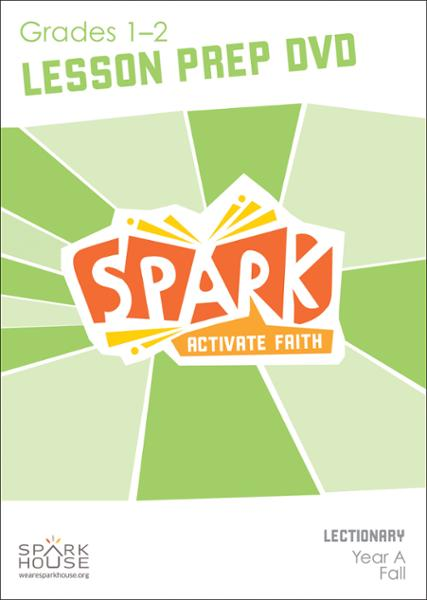 Spark Lectionary / Fall 2020 / Grades 1-2 / Lesson Prep Video DVD