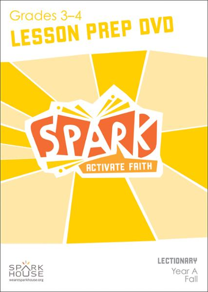 Spark Lectionary / Fall 2020 / Grades 3-4 / Lesson Prep Video DVD