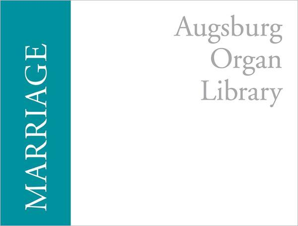 Augsburg Organ Library: Marriage
