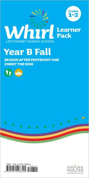 Whirl Lectionary / Year B / Fall 2021 / Grades 1-2 / Learner Pack