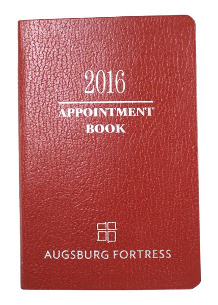 2017 appointment book