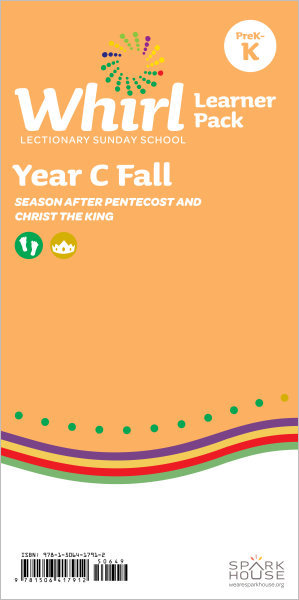 Whirl Lectionary / Year C / Fall 2019 / PreK-K / Learner Pack