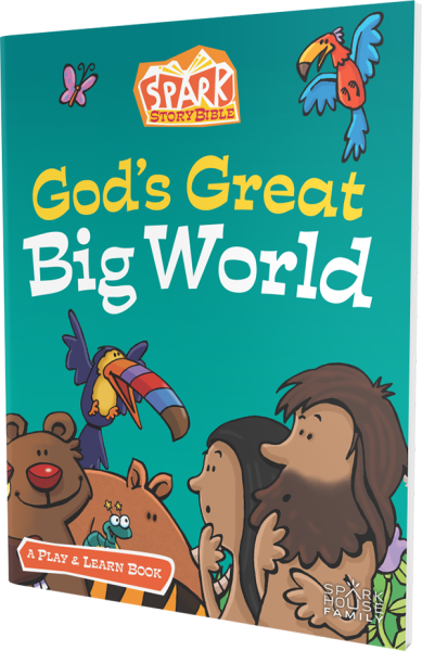 God's Great Big World: A Play and Learn book