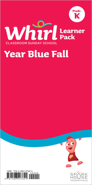 Whirl Classroom / Year Blue / Fall / PreK-K / Learner Pack