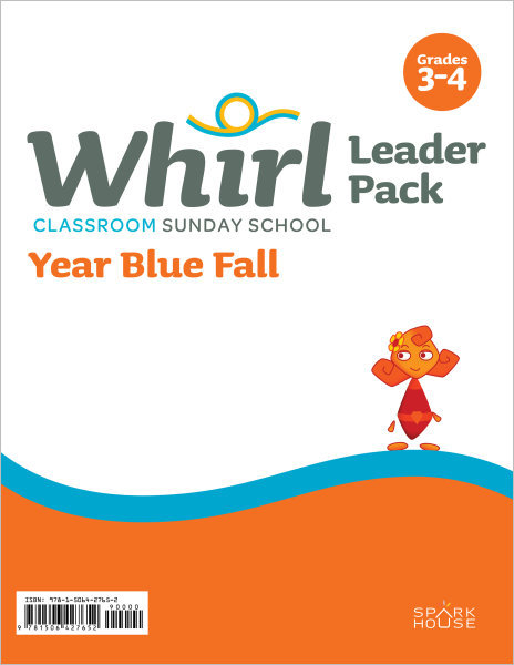 Whirl Classroom / Year Blue / Fall / Grades 3-4 / Leader Pack