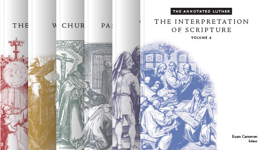 The Annotated Luther Volume 1-6 set