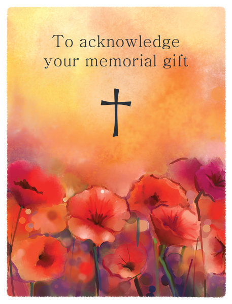 Memorial Acknowledgment Cards