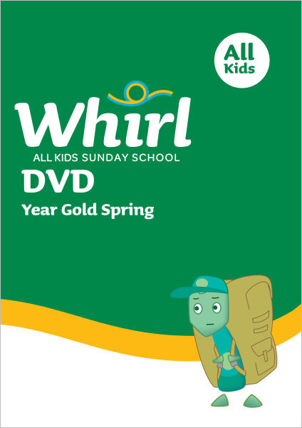 Whirl All Kids / Year Gold / Spring / Grades K-5 / DVD