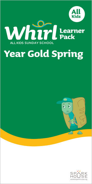 Whirl All Kids / Year Gold / Spring / Grades K-5 / Learner Pack