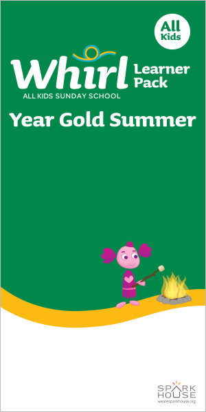 Whirl All Kids / Year Gold / Summer / Grades K-5 / Learner Pack