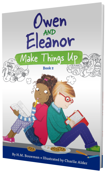 Owen and Eleanor Make Things Up (Hardcover)