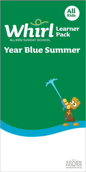 Whirl All Kids / Year Blue / Summer / Grades K-5 / Learner Pack