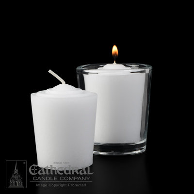 Votive Lights: 15 Hour, Tapered (box of 144)