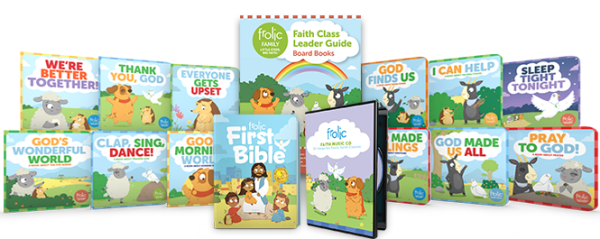 Frolic Family / Board Books / Birth - Age 3 / Starter Kit