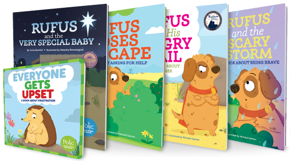 Frolic / I Heart Rufus! / Book Bundle