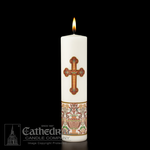 Investiture Christ Candle (3 x 12)