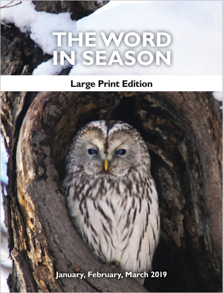 The Word in Season: Large Print Edition