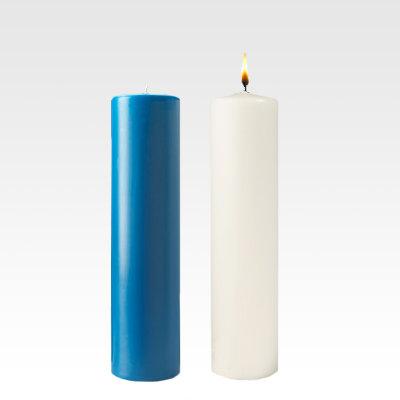 Advent Pillar Candles (Stearine)