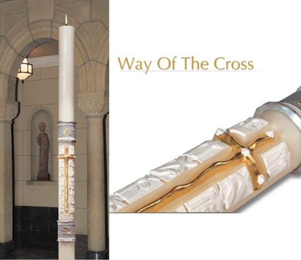 Way of the Cross: 1 15/16 x 39, Plain End